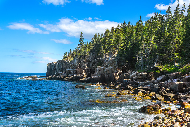 Otter Cliff- Acadia National Park