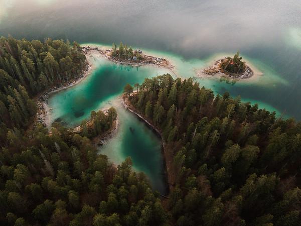 Eibsee, Bavaria, Germany
