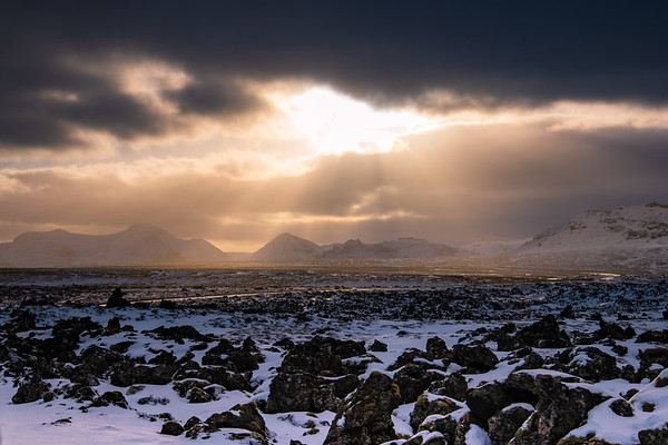 Iceland Winter Landscape