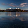Camping right next to Lake Wanaka is amazing! Especially if you still are jet lagged and wake up for every sunrise :)