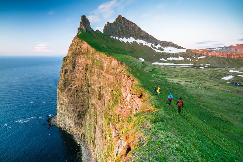 Hornstrandir sea cliffs, Iceland 2016.