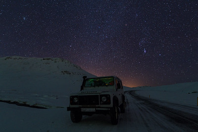 starry night iceland