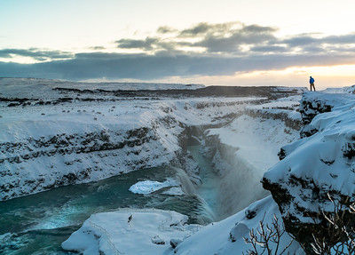 Viewing Gullfoss