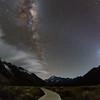 Moonlight In Hooker Valley