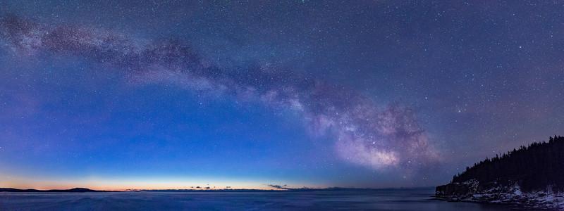 Acadia Winter, Panorama
