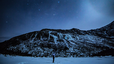 Moonlit On Chimney Pond
