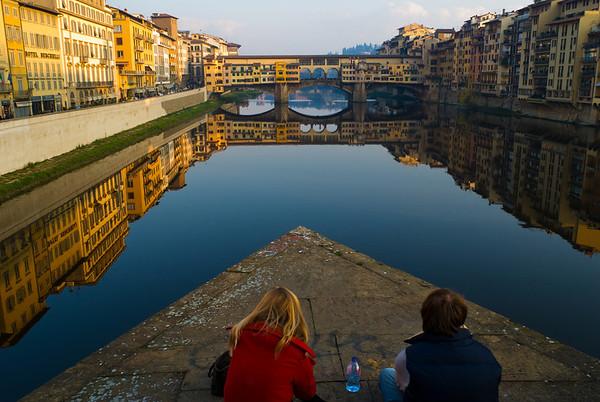 Ponte Vecchio Evening