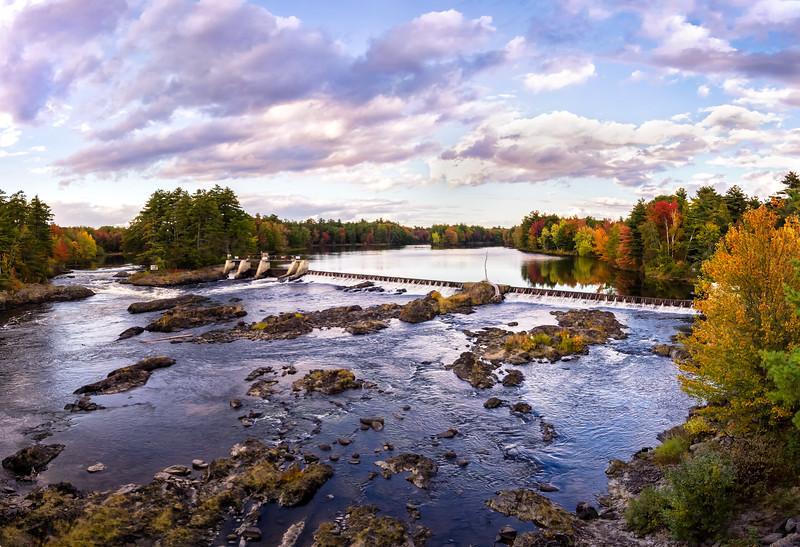Stillwater River - Gilman Falls 10-6-17