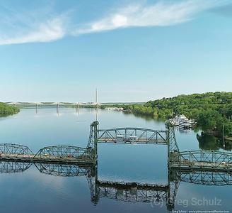 Stillwater Lift Bridge Spring View