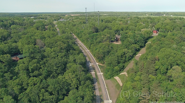 New Bike Path Wisconsin Side of Stillwater Lift Bridge