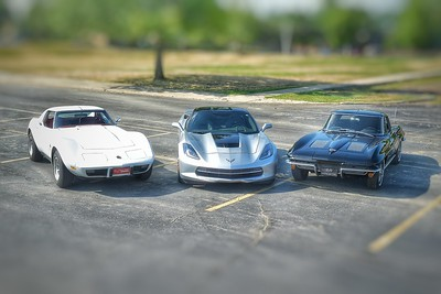 Stingray Corvette session