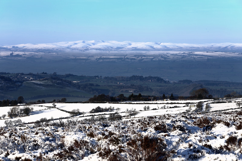 A view from the Stiperstones, Shropshire.