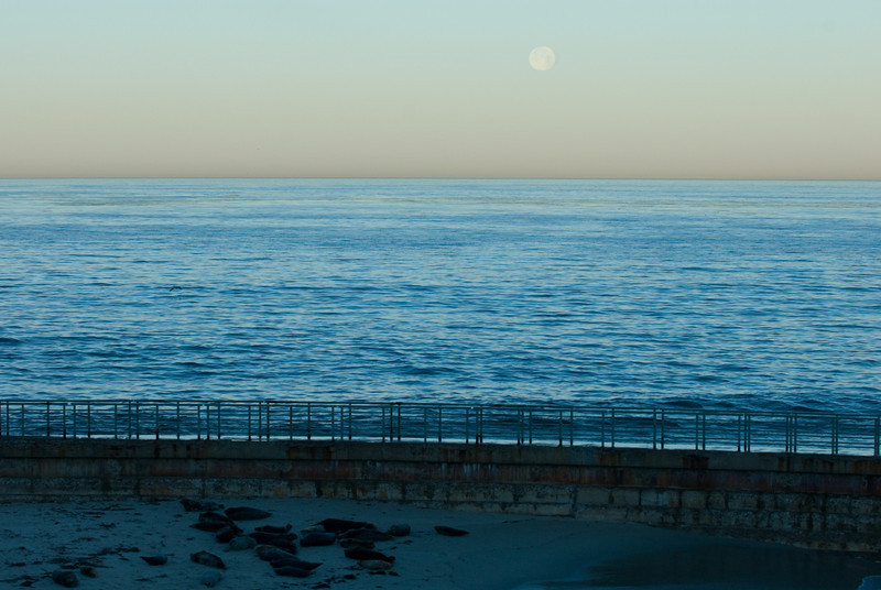 La Jolla Full Moon over the Children's Cove_-31