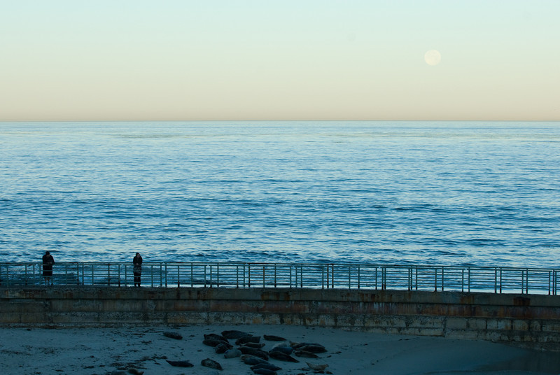 La Jolla Full Moon over the Children's Cove_-41