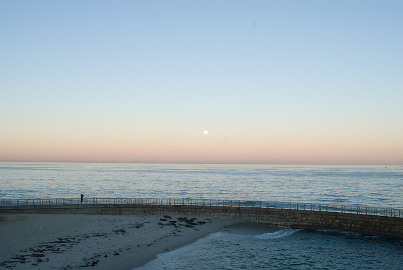 La Jolla Full Moon over the Children's Cove_-11