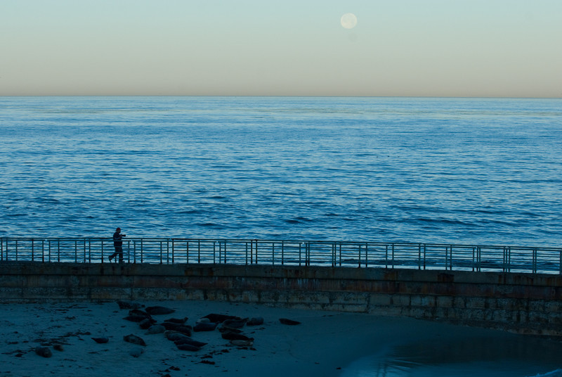 La Jolla Full Moon over the Children's Cove_-32