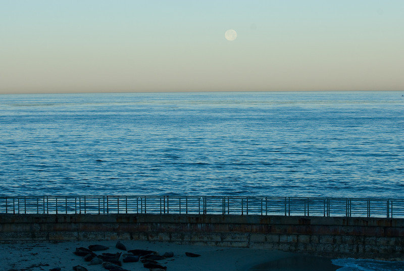 La Jolla Full Moon over the Children's Cove_-29