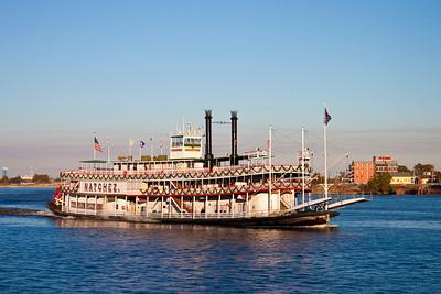Natchez Steam Boat, New Orleans