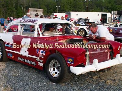 May 3, 2008 Delaware International Speedway Redbud's Pit Shots
