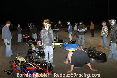October 9, 2010 Redbud's Pit Shots US 13 KartClub-3rd Annual Diamond State-'50' Shootout