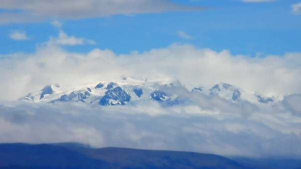 Time Lapse of Andes Moutains