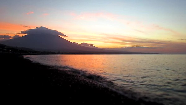 Time Lapse of Bali Sun Set