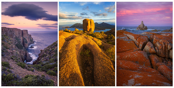 """ROCK TRIPTYCH #2 (COLOUR-FUL)"""