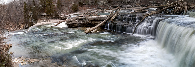020-Cataract-Falls-Spring-Waterfall-Upper-Falls-Panoramic