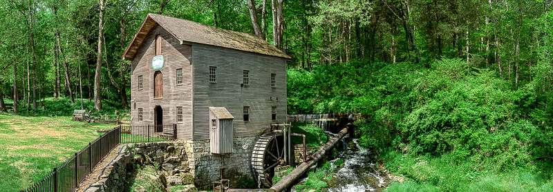 011-Beck's-Mill-Grist-Mill-Indiana-Salem-Panoramic-Lee-Mandrell