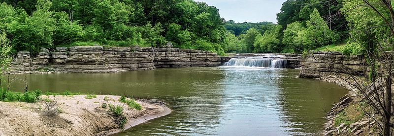 022-Cataract-Waterfall-Summer-Panoramic-Indiana