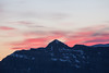 Sunset over Glacier Peak.