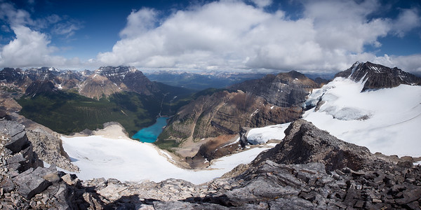 Panorama from the top of Mt Bowlen.