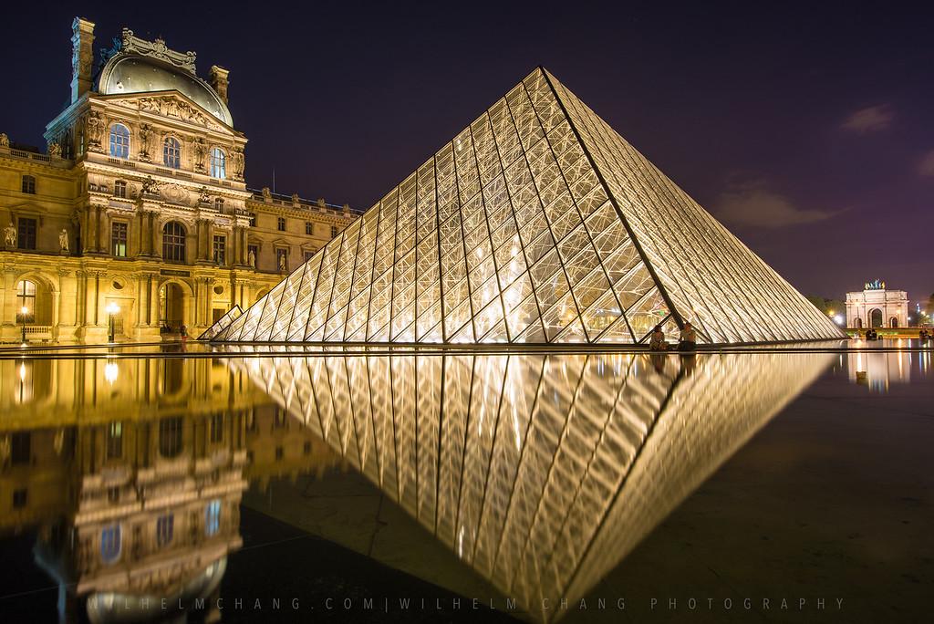 到巴黎攝影 - 羅浮宮 Musee du Louvre