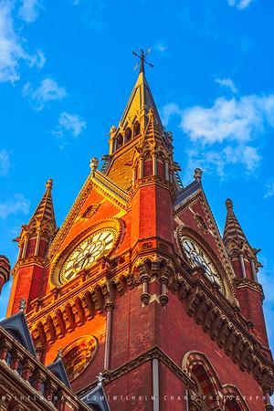Saint Pancras Station, London