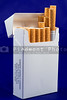 A pack of nicotine laden tobacco cigarettes.