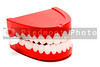A set of the ever popular and highly amusing chattering teeth.
