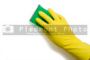 Latex Glove and Sponge