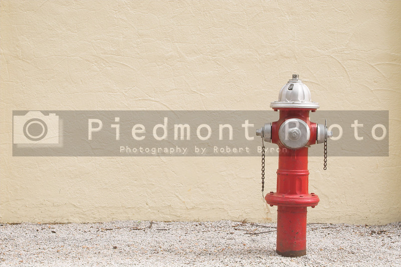 A fire hydrant used for fighting fires.