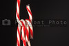 Deliciously sweet candy canes for the Christmas season.
