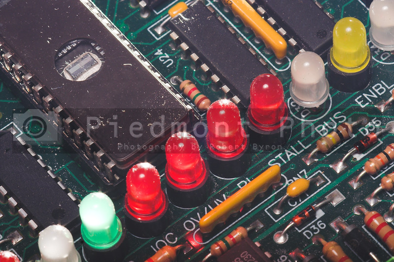 LED's on a Circuit Board
