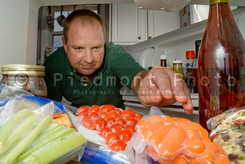 Man in Refrigerator
