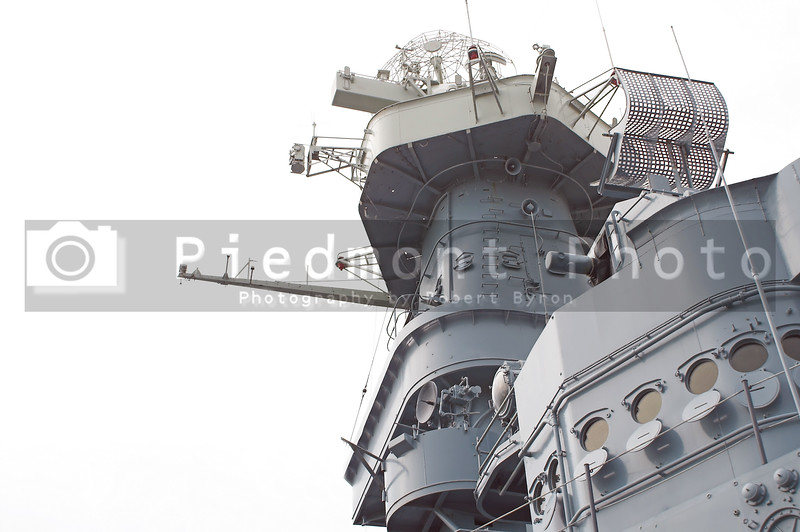 Conning tower of a North Carolina class battleship.