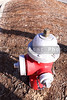A fire hydrant used for the extinguishing of large fires.
