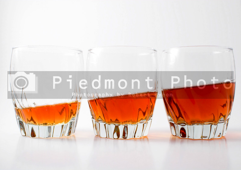 Highball glasses filled with delicious Kentucky Bourbon.