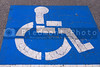 A parking space for those people who are legally handicapped.