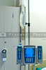 An automatic IV pump in a hospital.