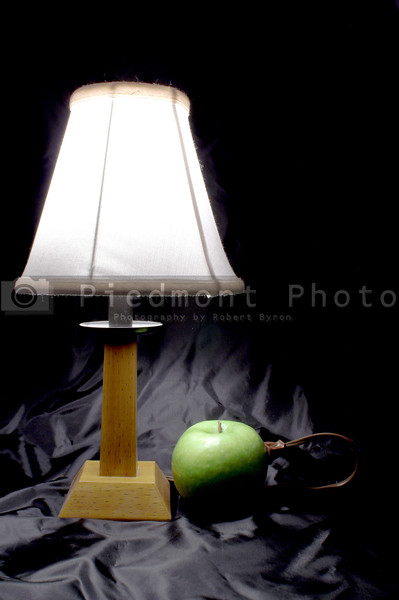 A lamp powered by the awesome power of fruit goodness.
