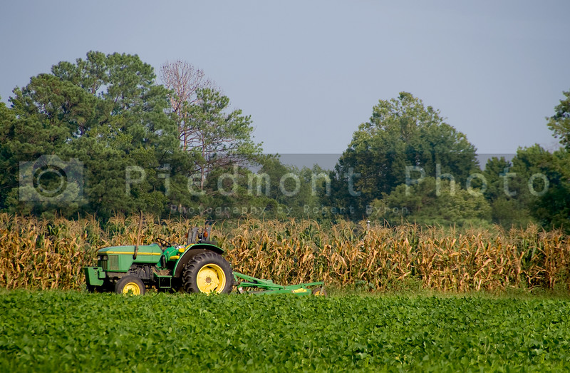 A farm in a rural area of America.