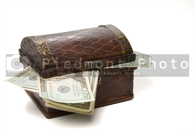 A Treasure Chest full of cash money.