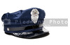 A New York City police officer's hat.